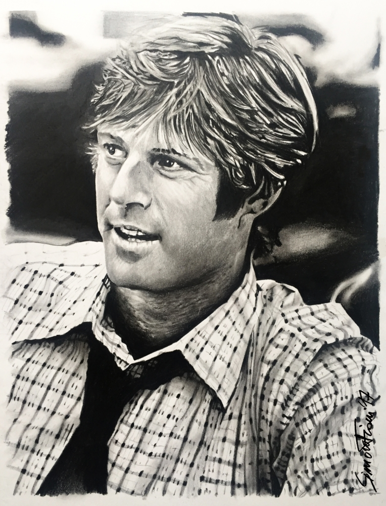 Robert Redford by simoflame